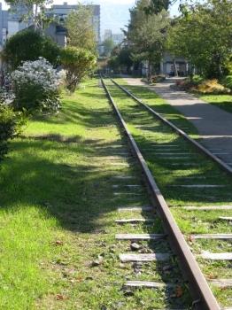北海道最古の鉄路