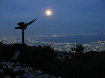 六甲山天覧台からの夜景