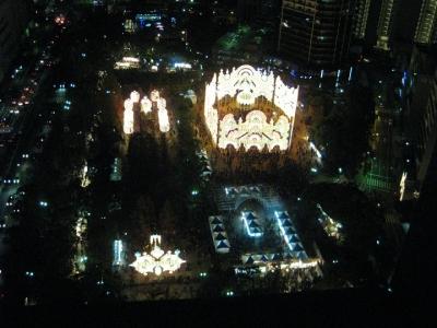 神戸ルミナリエ全景,東遊園地の部