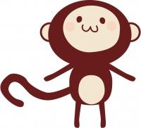 猿 クリップアート