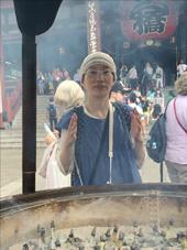 浅草寺の煙
