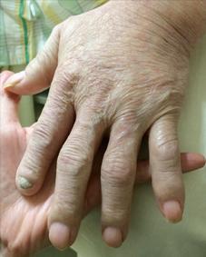 父さんの左手