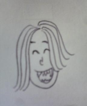 ヒナちゃん似顔絵