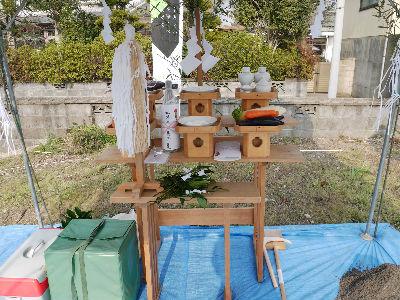 平松の家 地鎮祭2