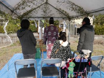 平松の家 地鎮祭4