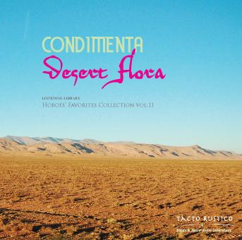 CONDIMENTA 2ndアルバム『Desert Flora』