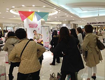 横浜高島屋、イベント、簡単にできるボディメイク、ダイエット、ベリーダンスエクササイズ