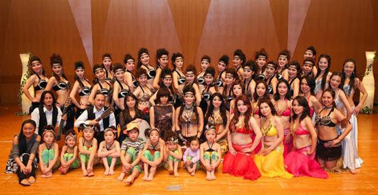祈りの舞2014 総勢約50名で踊りました!