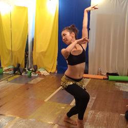 Flow Naturally主催、夏の鎌倉ベリーダンス特別クラス
