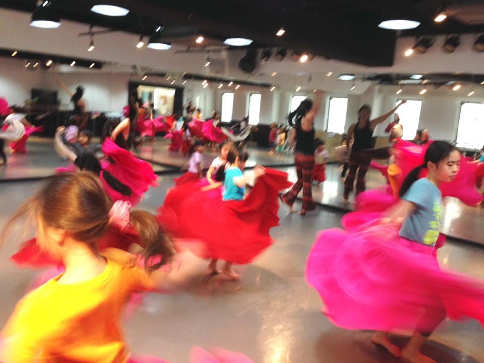 ジプシースカート キッズベリーダンス