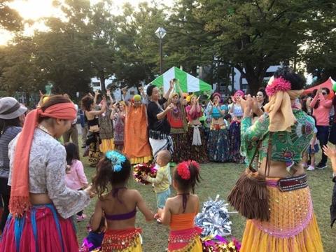 フレームドラムワークショップ WSベリーダンス無料体験WSも盛り上がりました!