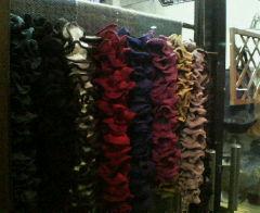 毛糸を買いに