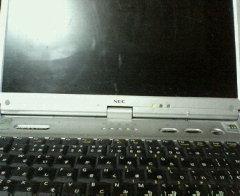 真っ暗なパソコン