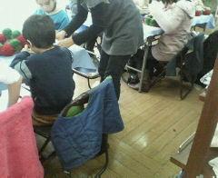 教室の手伝い