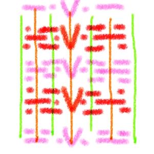 織り編み図