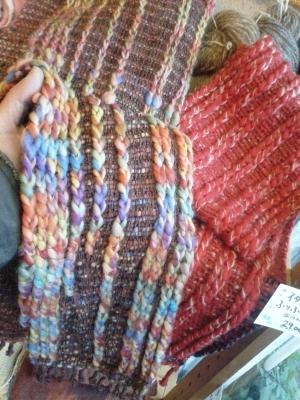 編みのようで