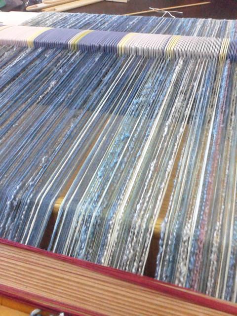 インド藍織り