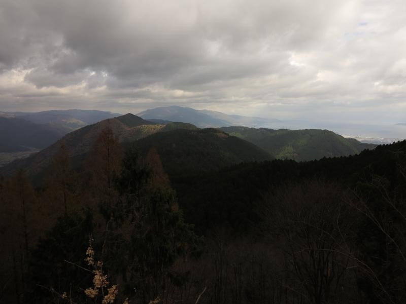四明ヶ岳より比良を望む.JPG