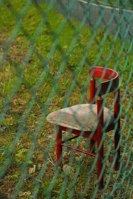 いつぞやの赤い椅子.JPG