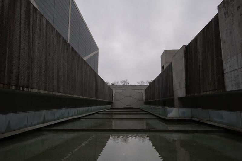 狭山池博物館 水庭