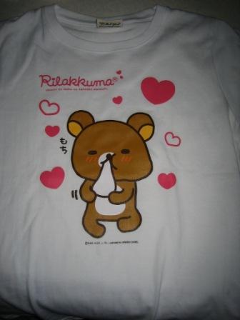 リラックマTシャツ�
