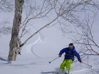 旭岳はまだ冬です