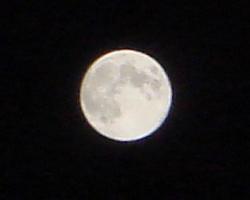 2012年8月31日の満月