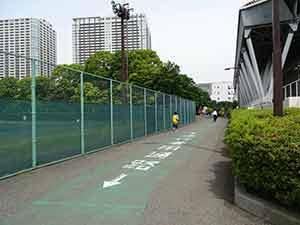 有明テニスの森公園ジョギングコース07