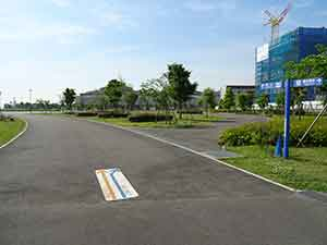 東京臨海広域防災公園ランニングコース02