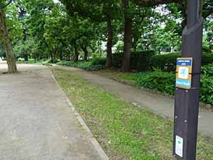 日比谷公園ランニングコース02