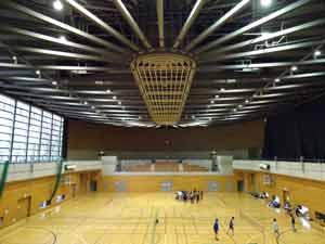 小金井市総合体育館ランニング走路02