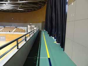 小金井市総合体育館ランニング走路04