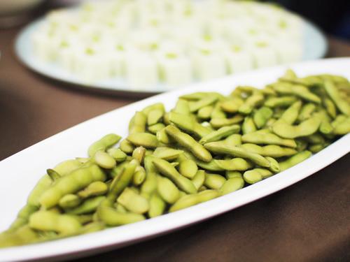 桜井農園の枝豆。甘くて香りがよくて絶品!