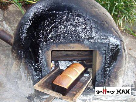 ギャラリーKAN自慢の石窯パン