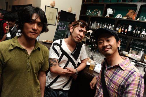 映画監督 高橋さんと俳優の根本さん。パワーのある二人です!