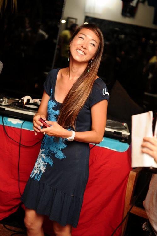 プロサーファー岡部亜紀さんから9月5日のBPDガールズサーキットを紹介していただきました!
