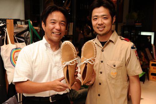 N.G.R.名倉くんと滝沢さん。俺の靴や!