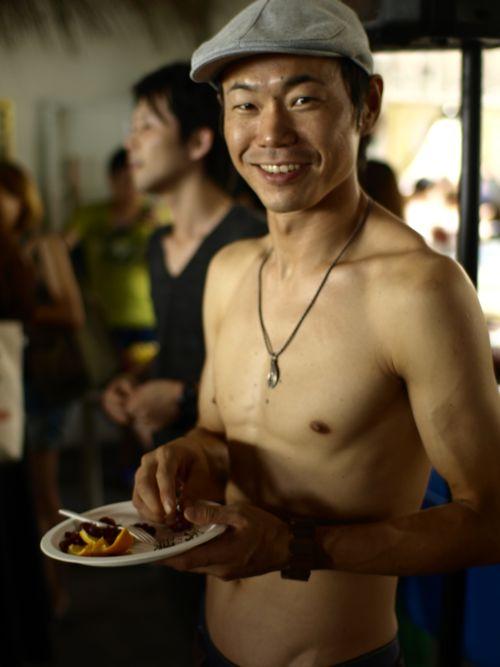 フタバスポーツに参加してくれたプロスノーボーダー近藤勇二郎さん。今回も来てくれて感謝です!
