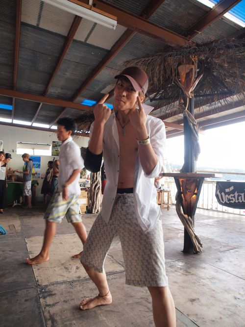 Farmer's Market @ GYREで出会った農大出身のダンスユニット!シャープにダイナミックに、時にコミカルに!盛り上げてくれました!