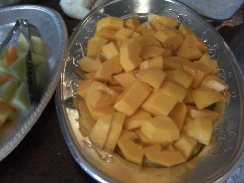 みずみずしくってボリューム満点!食べごたえあるフルーツをどうぞ!