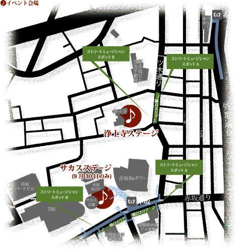 Swing赤坂2010 地図