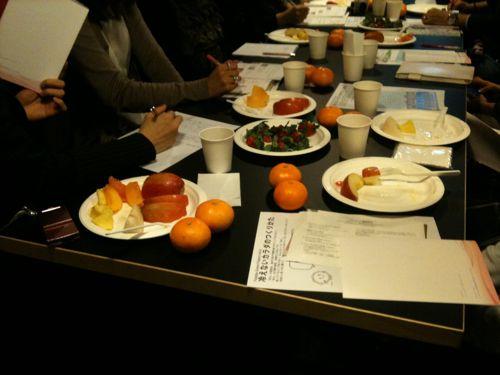美味しいフルーツとともに冷えないためのお勉強!