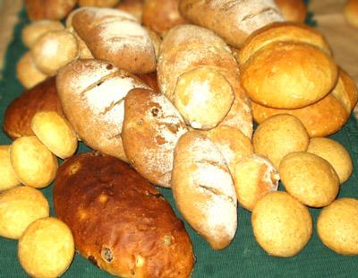 天然酵母パンたち