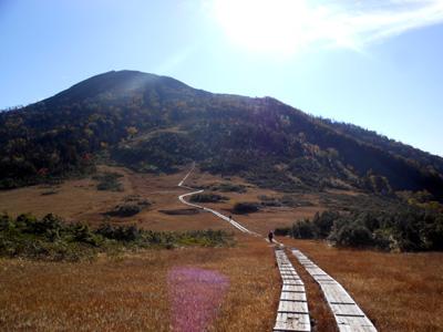 燧ケ岳を望む2