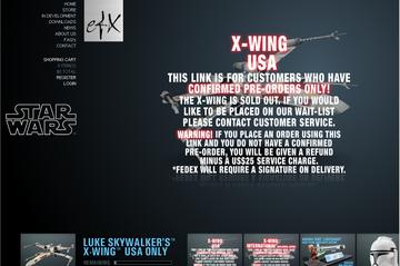 Xウイング レプリカモデル(eFX)