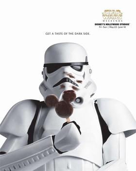 Star Wars Weekends キャスト用ポスター(ストームトルーパー)