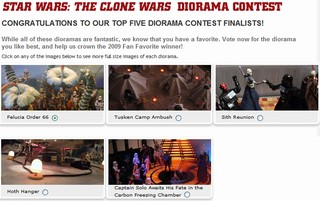 STAR WARS: The Clone Wars DIORAMA CONTEST
