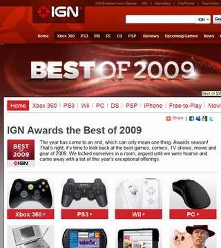 IGN Best of 2009