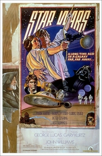 Star Wars Circus Style Poster