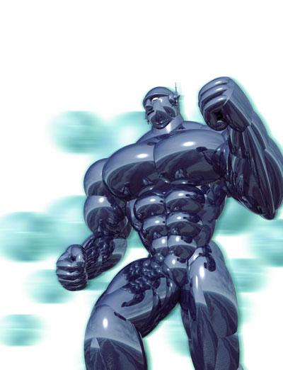 3Dイラスト-アイアンマン